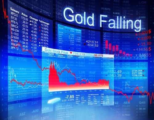 gold-falling